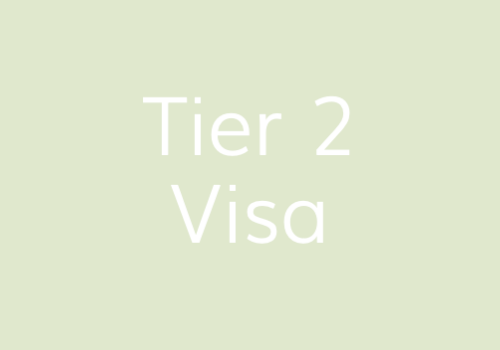Tier 2 Visa – how do I apply and what's the process? | IMG