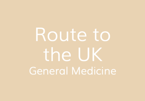 General Medicine Route To The Uk Img Connect